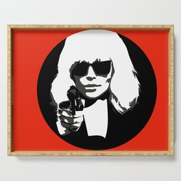 Atomic Blonde Serving Tray
