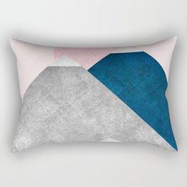 Modern Mountain No2-P2 Rectangular Pillow