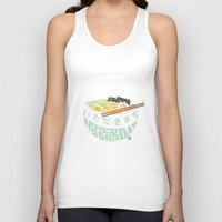 ramen Tank Tops featuring Ramen. by k.b. doodles