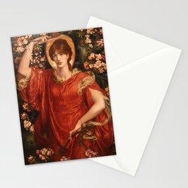 A Vision of Fiammetta 1878 Dante Gabriel Rossetti Stationery Cards