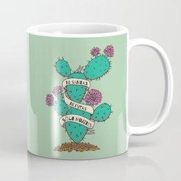 Ni Santas, Ni Putas, Solo Mujeres Gallery Print Coffee Mug