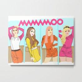 Mamamoo Ahh Oop Era Metal Print