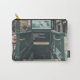 New York City Subway 2 Carry-All Pouch