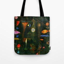 """Paul Klee """"Fish Magic"""" Tote Bag"""