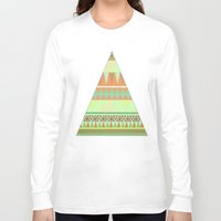 aztec Long Sleeve T-shirts featuring Aztec by Elli F