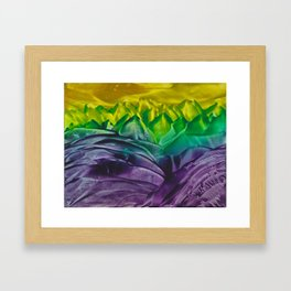 Amethyst Seas Framed Art Print
