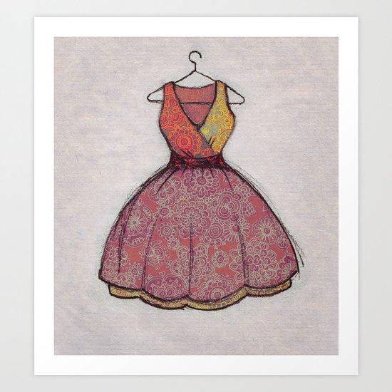 Put on your best dress... Art Print