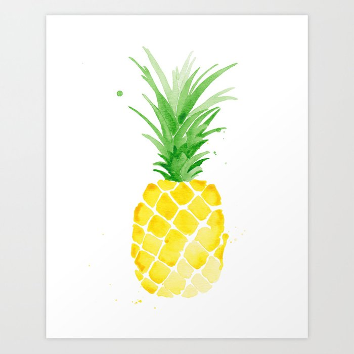 Pineapple Art Print By Theaestate Society6
