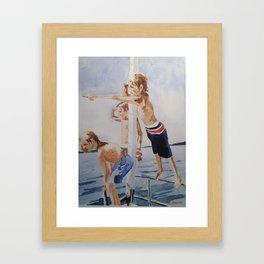 Young Captains Framed Art Print