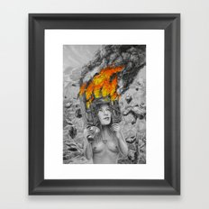 The Crazy One Framed Art Print