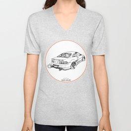 Crazy Car Art 0205 Unisex V-Neck