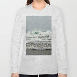 Sea Breaks on the Tidal Shelf Long Sleeve T-shirt
