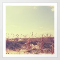 serenity Art Prints featuring Serenity. by Sobriquet Studio
