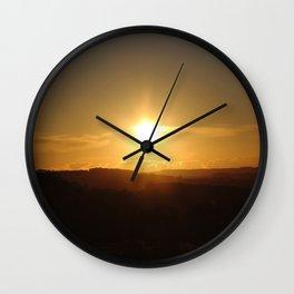 Peak District Wall Clock