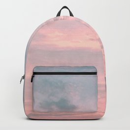 Pink and Blue Skyscape Backpack
