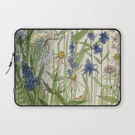 Wildflowers 2 watercolor Laptop Sleeve