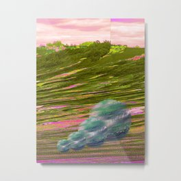 Puhoi Track 1; Viewing the Landscape Metal Print