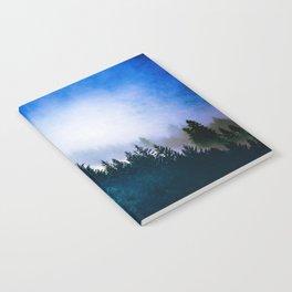 Winter Blues Notebook