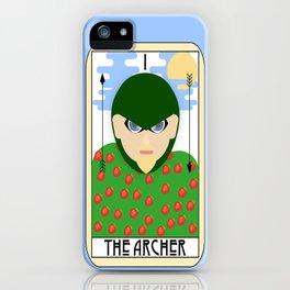 The Archer (Tarot Card I) iPhone Case