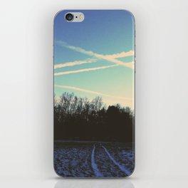 Frozen Field iPhone Skin