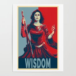Elect the Wisdom Poster