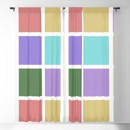 color squares. 2019a Blackout Curtain