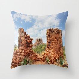 Ekklisia Agios Ioannis Prodromos Throw Pillow