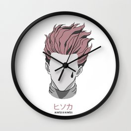 Hisoka from Hunter X Hunter Wall Clock
