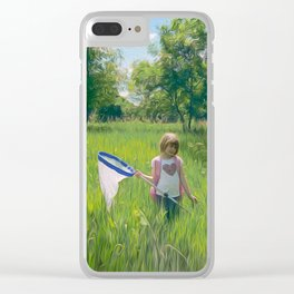 Hunting Party Clear iPhone Case