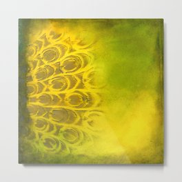 Dirty feathering Metal Print