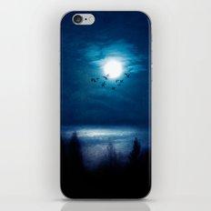 Blue hope iPhone & iPod Skin