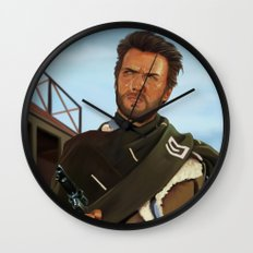 For a fistful of dollars Wall Clock