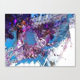 B L A Z I N Canvas Print