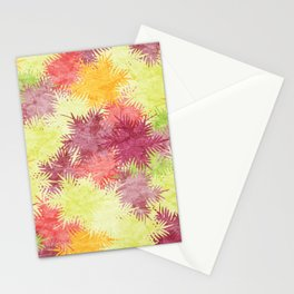Tropical Fan Palm Paradise – Colorful #04 Stationery Cards