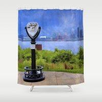 kentucky Shower Curtains featuring Louisville Kentucky by ThePhotoGuyDarren