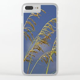 Saturday Sway Clear iPhone Case