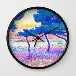The Saint Clair Beach - Digital Remastered Edition Wall Clock
