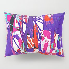 Child's Play - Abstract Painting ll Pillow Sham
