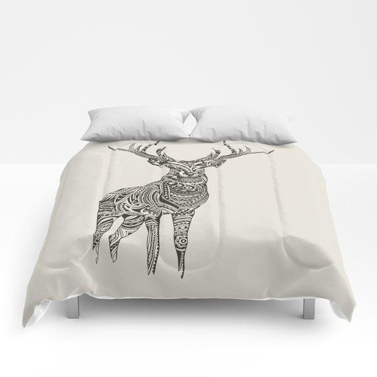 Polynesian Deer Comforters