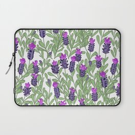 April blooms(lavender) Laptop Sleeve