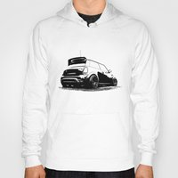 mini cooper Hoodies featuring MINI Cooper S by zero2sixty