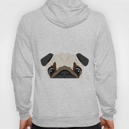 Peeking Pug Hoody