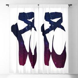 "Ballet shoes ""Bokeh"" Blackout Curtain"