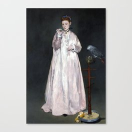 Édouard Manet Young Lady in 1866 Canvas Print