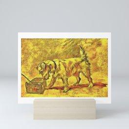Sealyham Terrier Dog Breed Mini Art Print