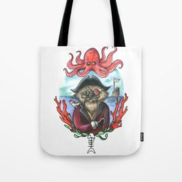 Captain Barnacles The Cat Tote Bag