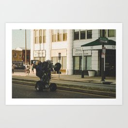Life on Broad Art Print