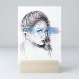 Look away, look away... Mini Art Print