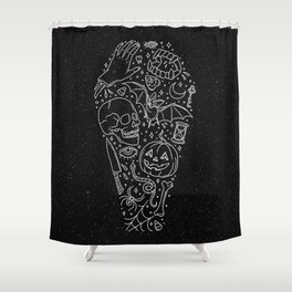 Halloween Horrors Shower Curtain