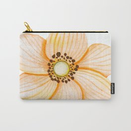 One Orange Flower Carry-All Pouch